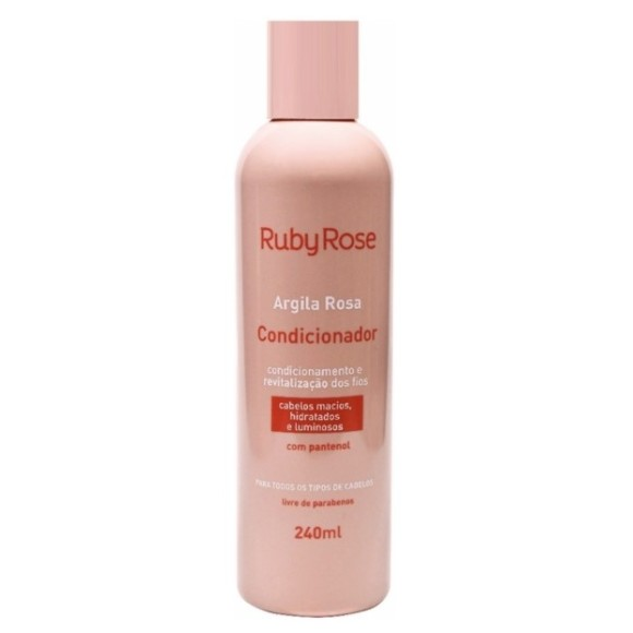 CONDICIONADOR ARGILA ROSA 240ML RUBY ROSE