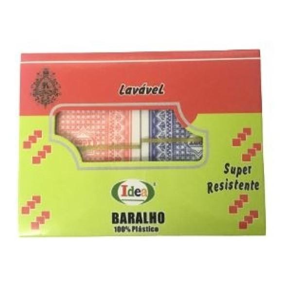 BARALHO PLÁSTICO 2UN